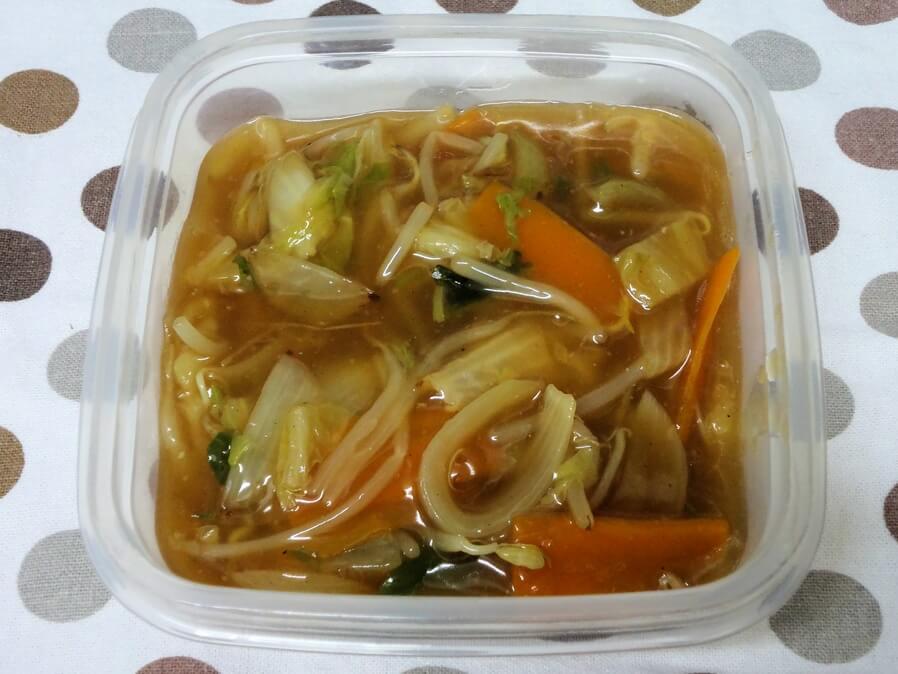 八宝菜を冷凍保存する