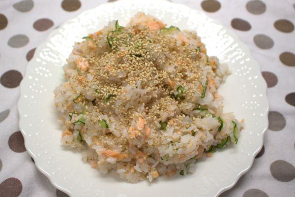 鮭のお寿司