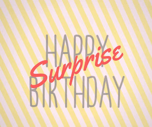 アイキャッチ@surprise Birthday party