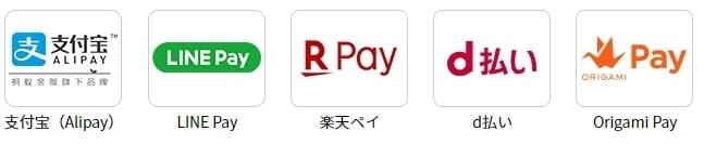 ローソンで利用できる支払い方法